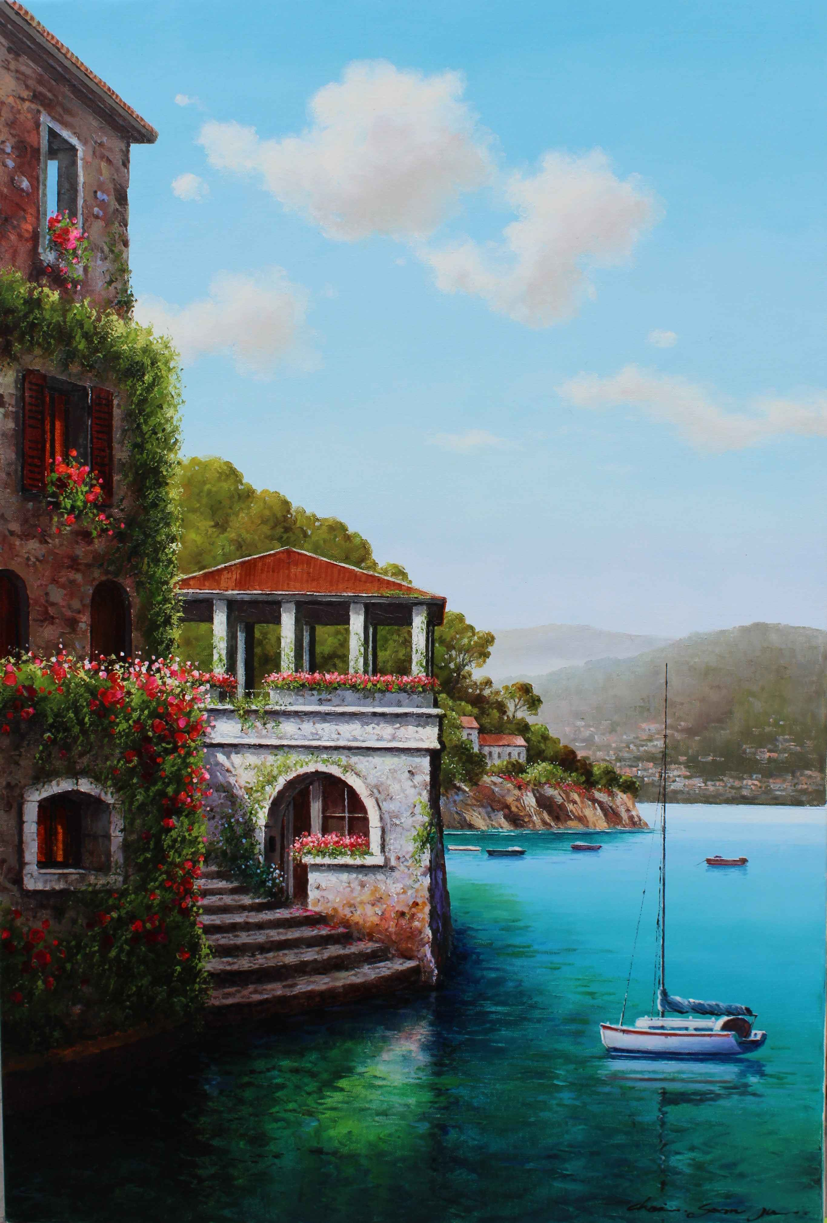 The balcony by  Soon Ju Choi  - Masterpiece Online