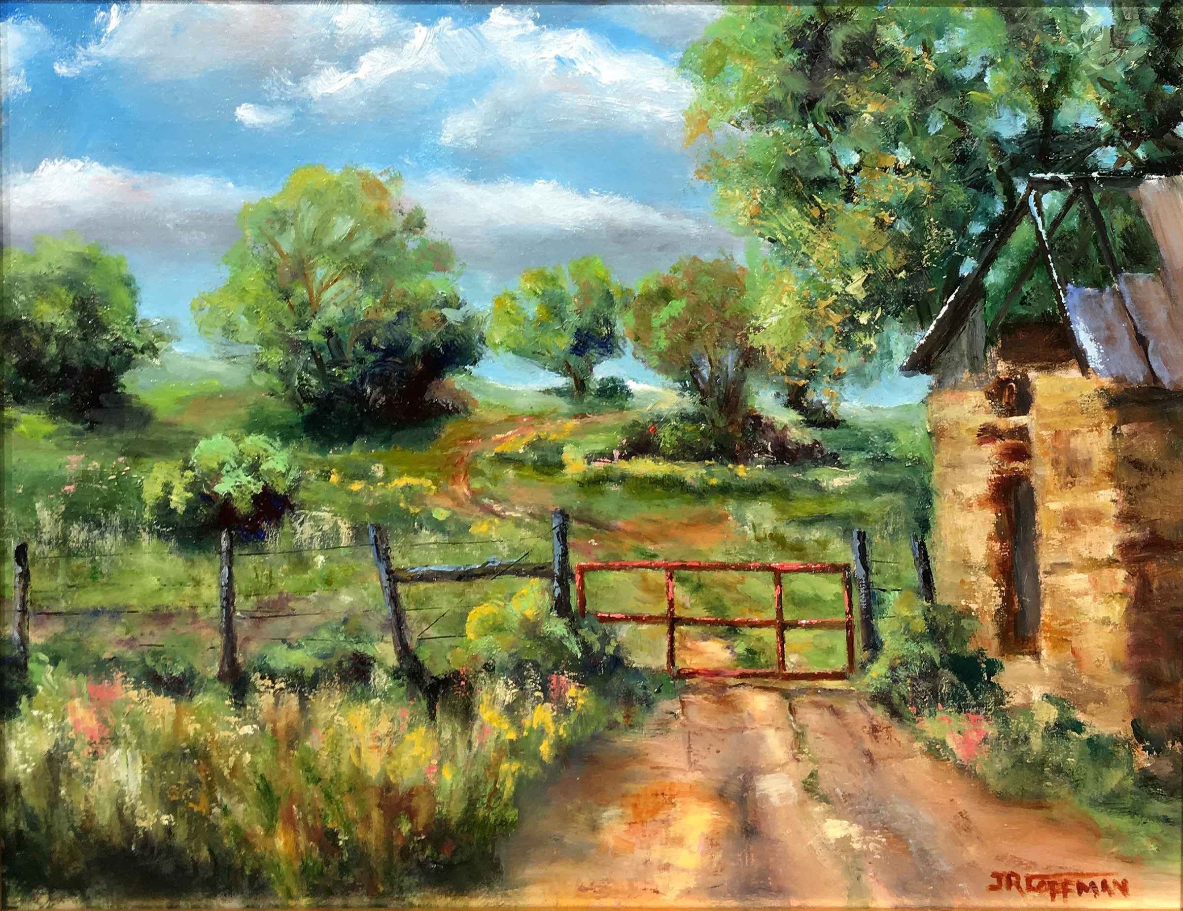 The Red Gate by  Jim Coffman - Masterpiece Online