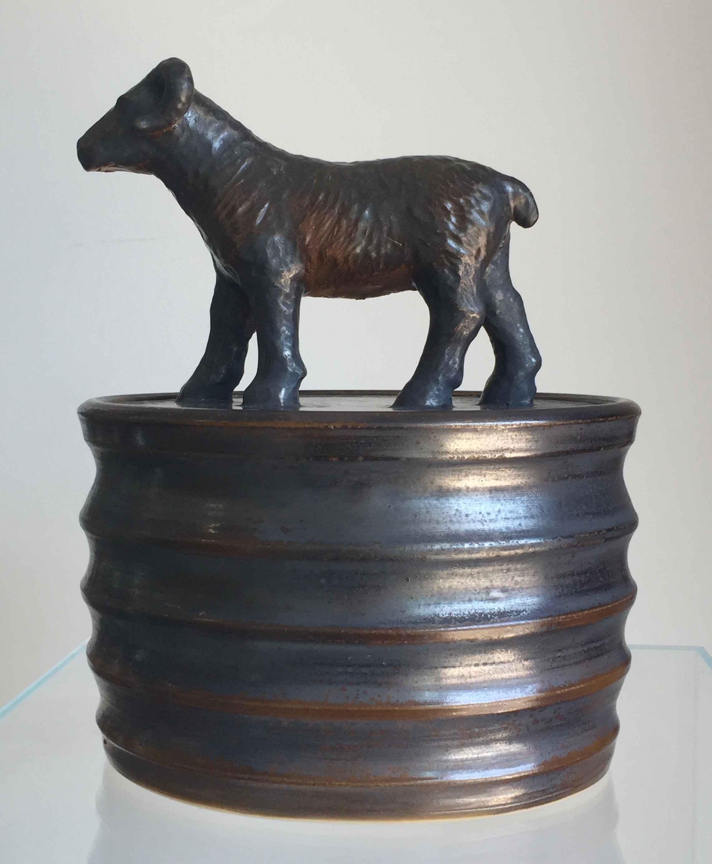 Z Sheep Jar by  Jeff Pratt - Masterpiece Online