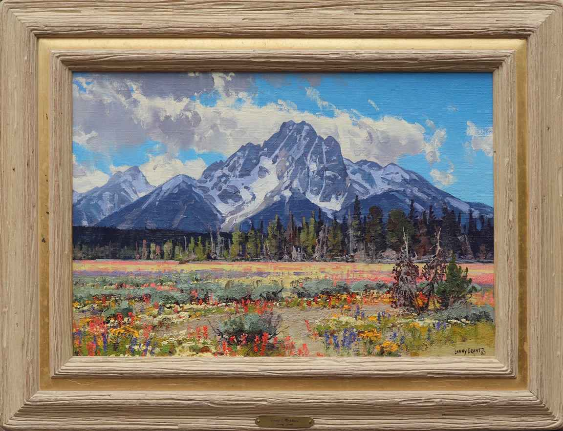 Scarlet Meadows by  Lanny Grant - Masterpiece Online