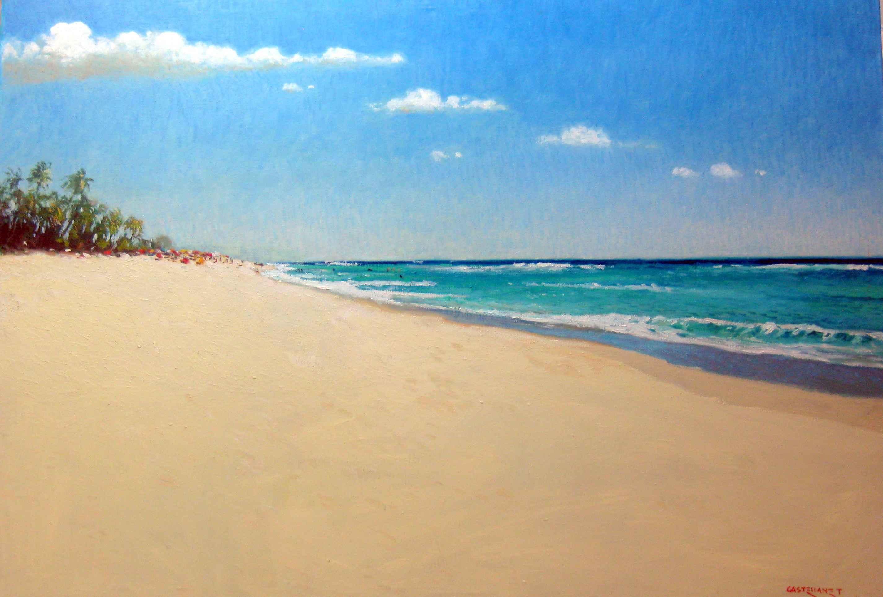 Wet Sand by Mr. Vincent Castellanet - Masterpiece Online