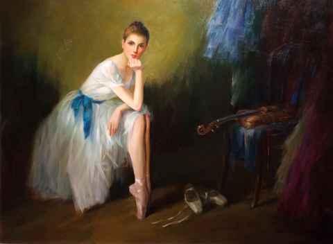 Strings for her Dance by  Kelvin  Lei - Masterpiece Online