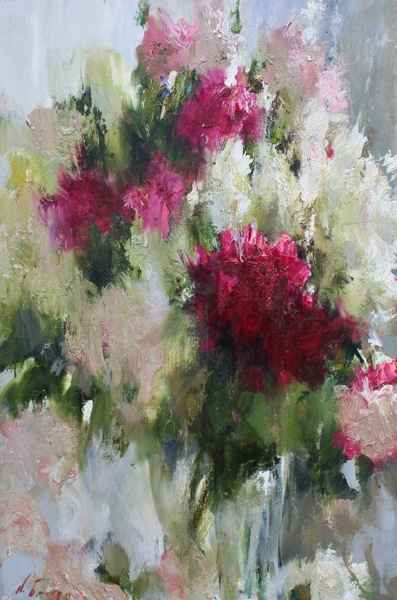 Peonies by  Nikolai  Blokhin  - Masterpiece Online