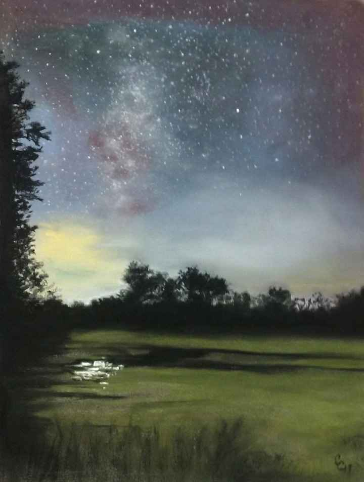 Milky Way, Point Plea... by  Cindy Cave - Masterpiece Online