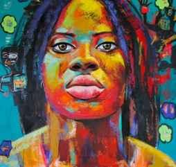 Rasta Girl by  Naydene Gonnella - Masterpiece Online