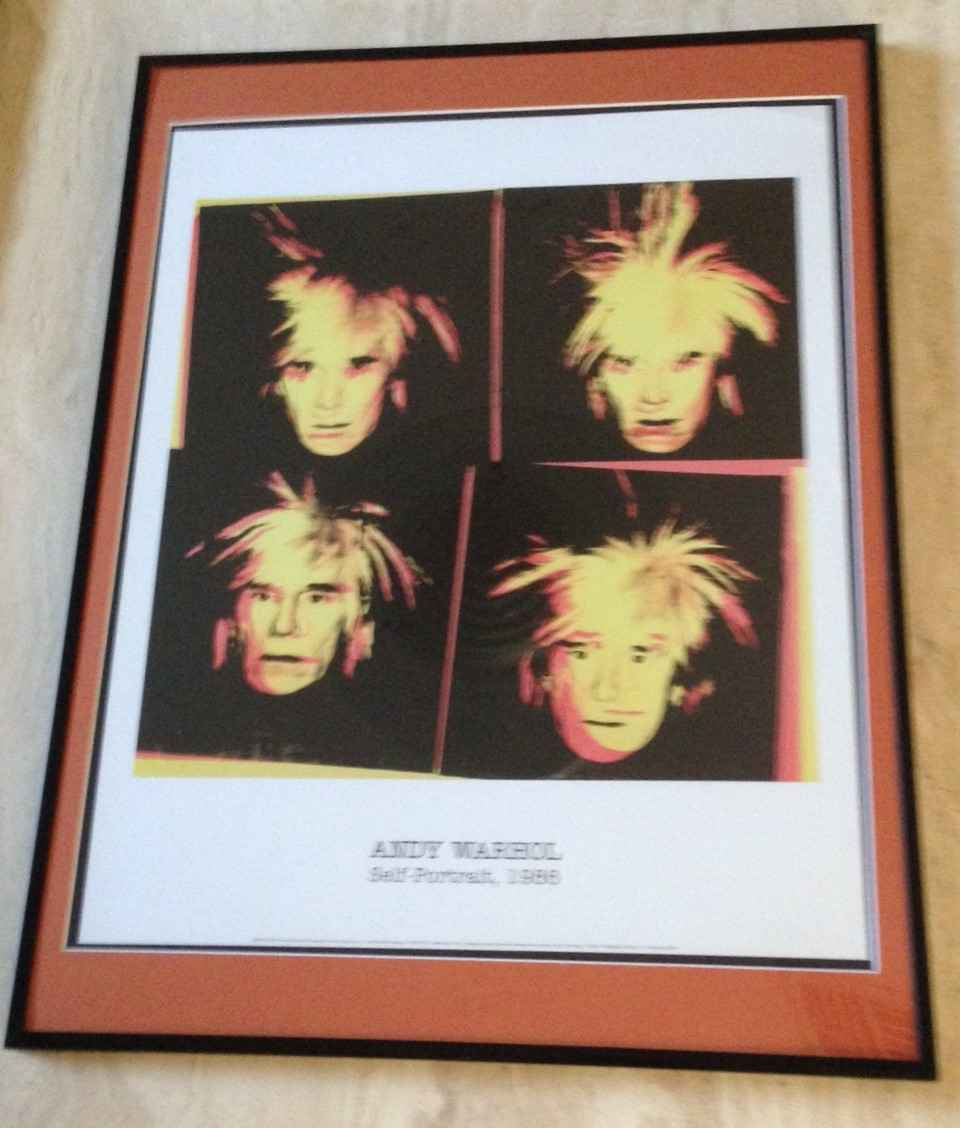Andy Warhol - Self Po... by  Andy Warhol - Masterpiece Online