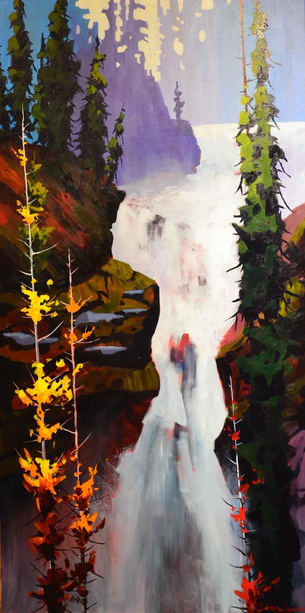 White Rapids by  Branko Marjanovic - Masterpiece Online