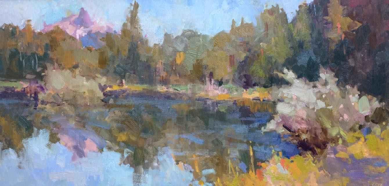 Cascades Reflected by  Scott Gellatly - Masterpiece Online