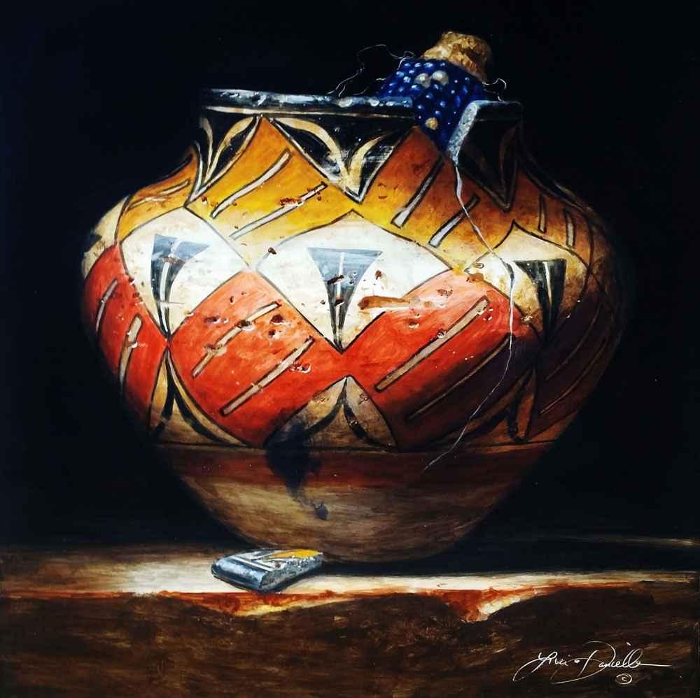 Four Color Acoma, Plu... by  Lisa Danielle - Masterpiece Online