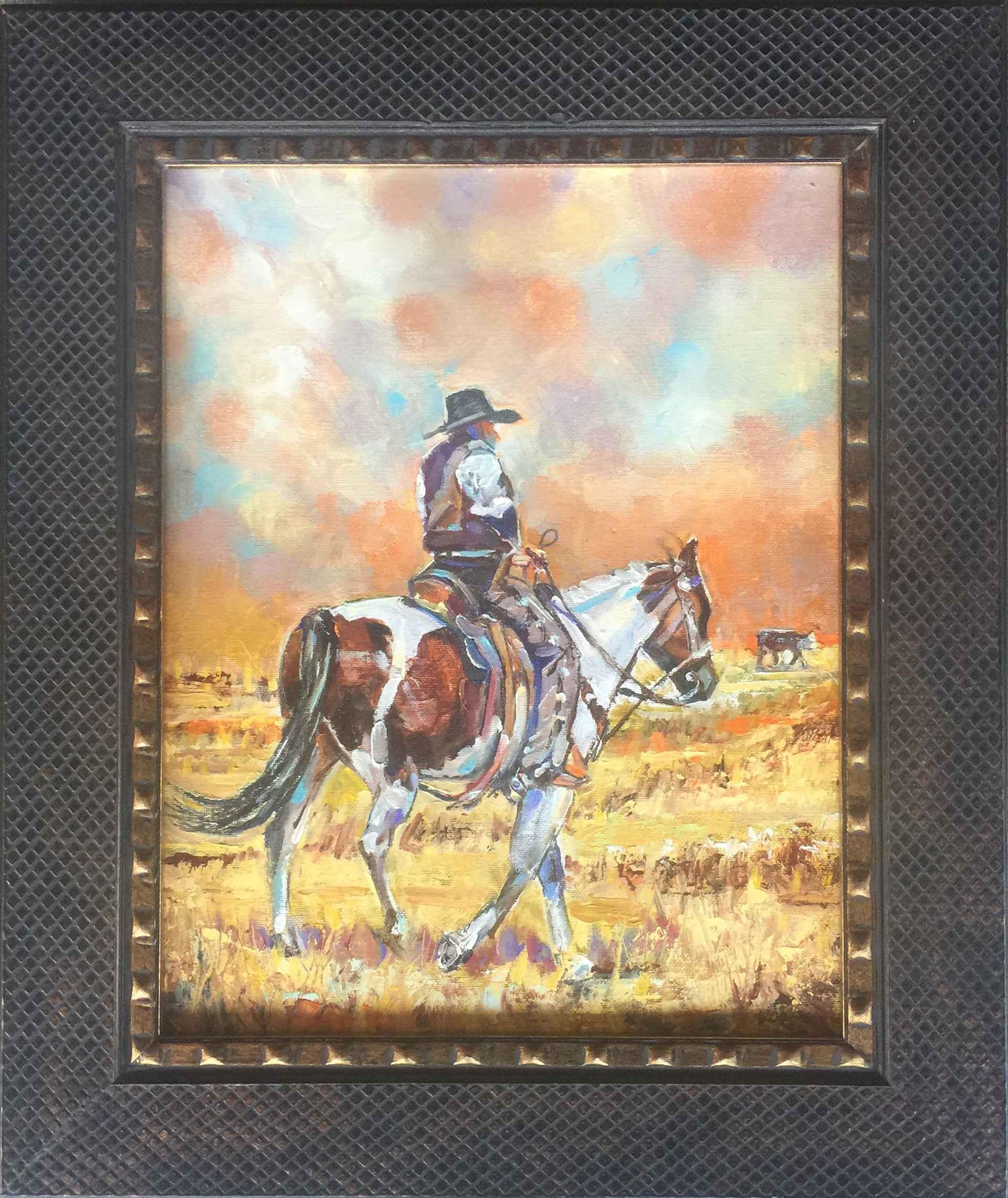 Wyoming Stray by  David Volsic - Masterpiece Online