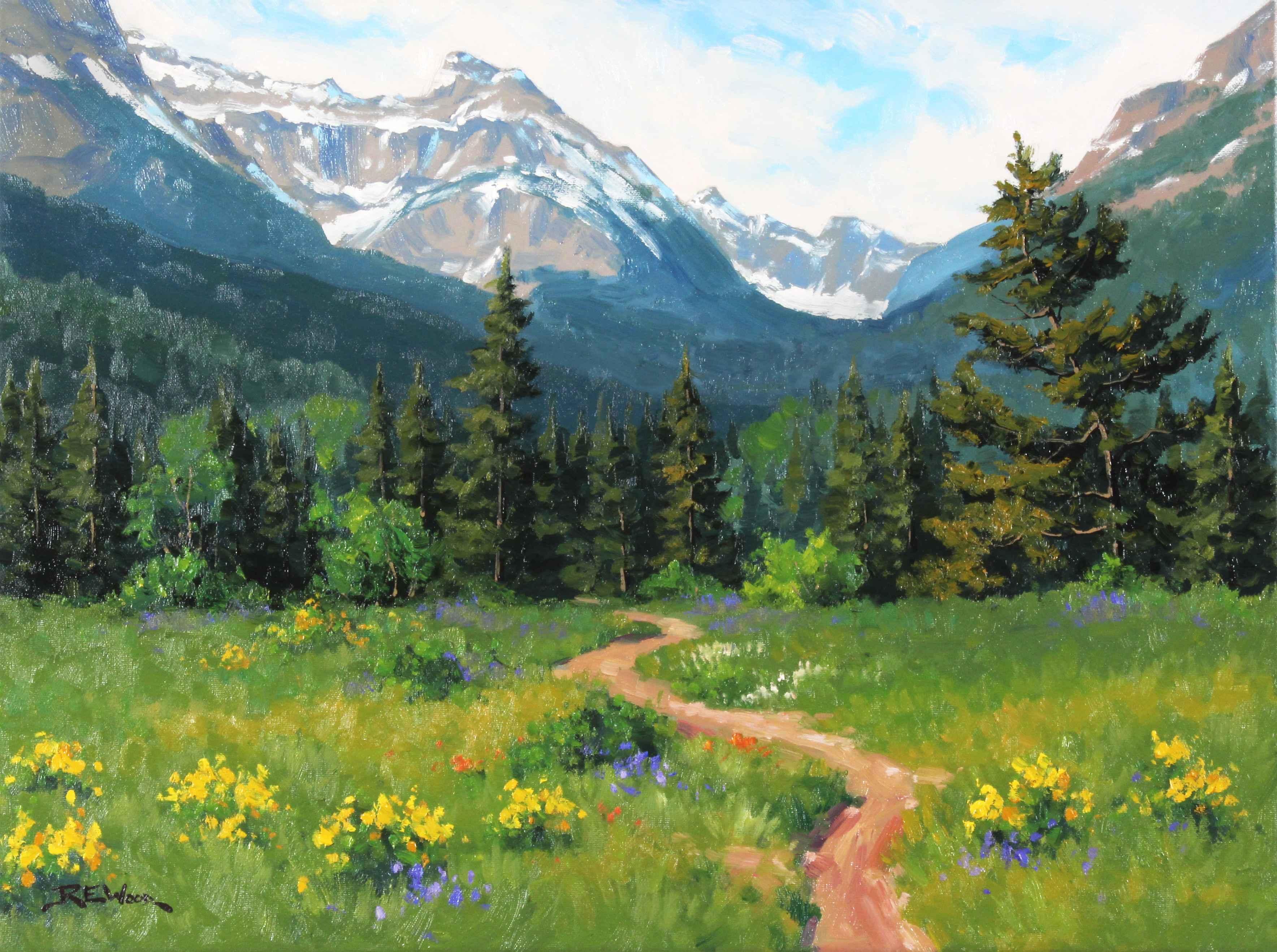 Trail To Blakiston Fa...  by  Robert E. Wood