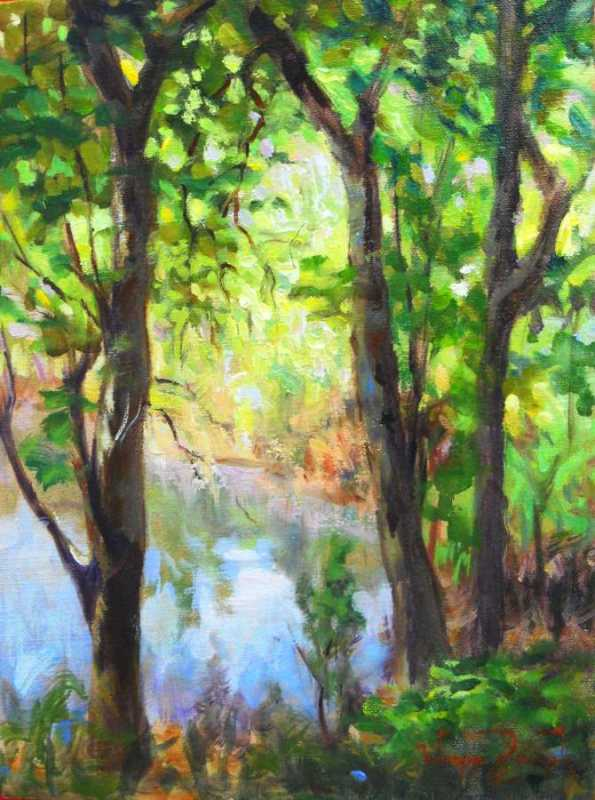 Rain Pool by Mr Wayne Branch - Masterpiece Online