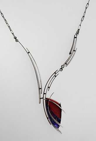 Necklace/Rosarita w/ ... by  Marc & Wendy Zoschke - Masterpiece Online