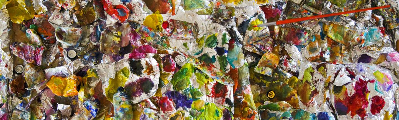 Aluminum Foil Palette... by  Alison Shaw - Masterpiece Online