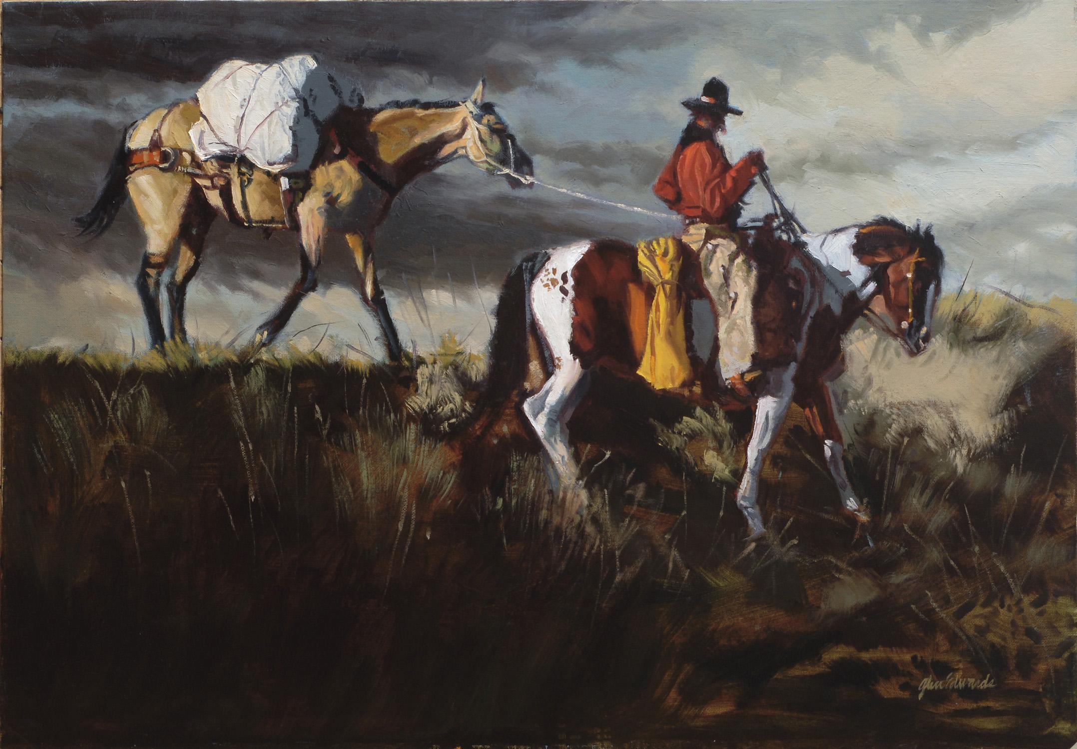 SOLD- On the Ridge by  Glen Edwards - Masterpiece Online