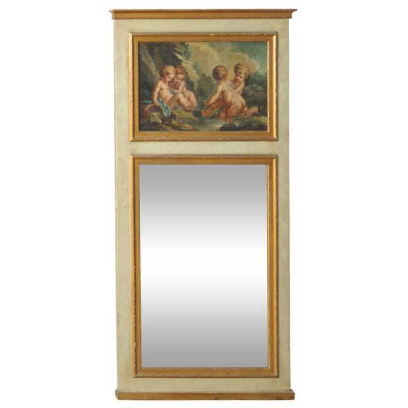 Trumeau Mirror with E... by  French  - Masterpiece Online