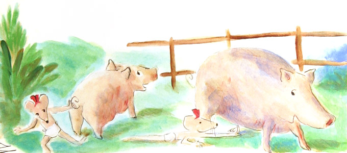 Pigs  by  Thacher Hurd