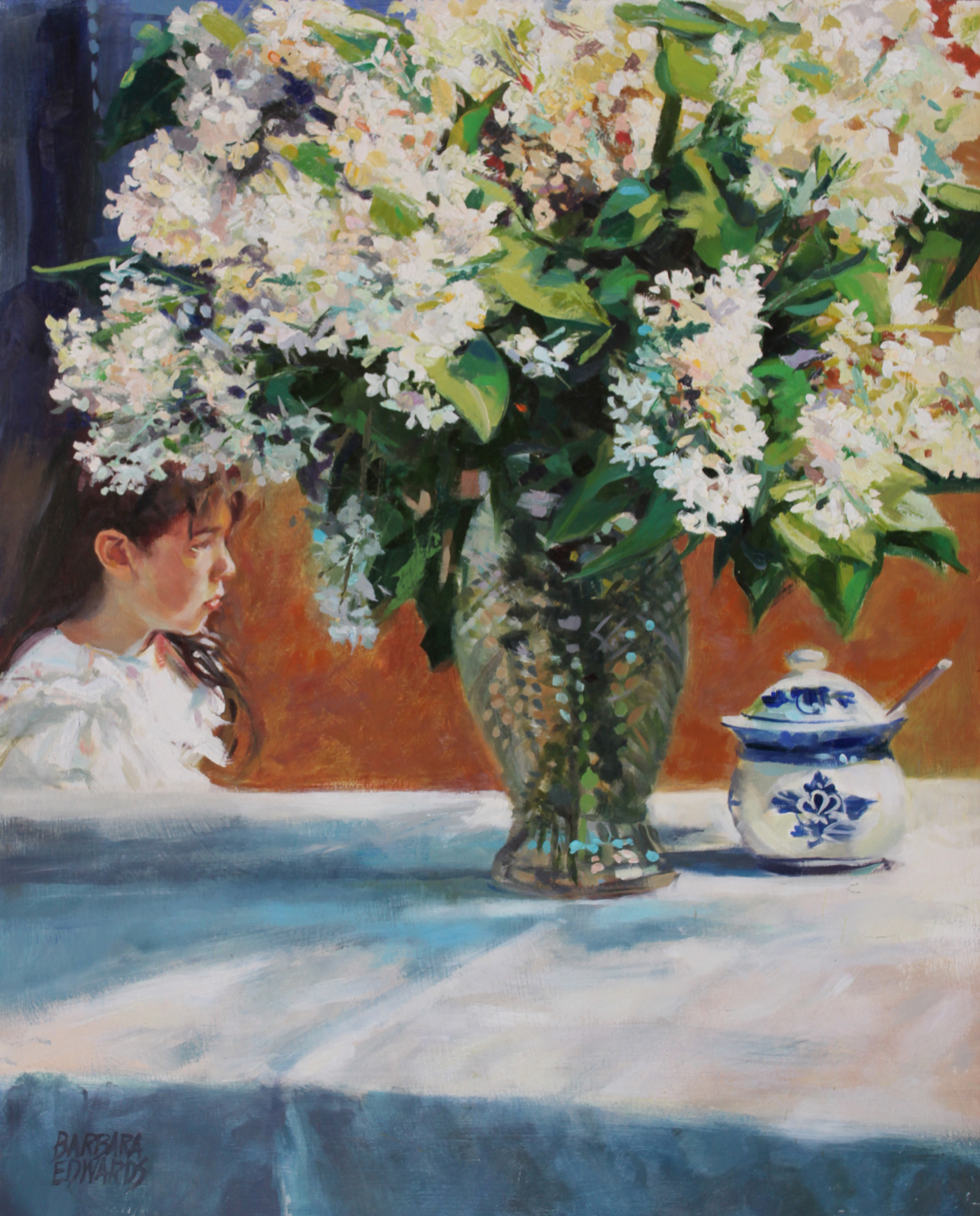 Sunday Lilacs by  Barbara Summers Edwards - Masterpiece Online