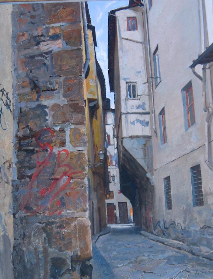 Florentine Graffiti by  Daud Akhriev - Masterpiece Online