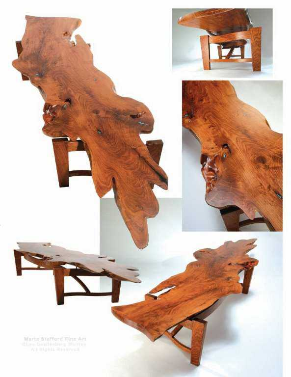 Mesquite Table by Mr Lou Quallenberg - Masterpiece Online