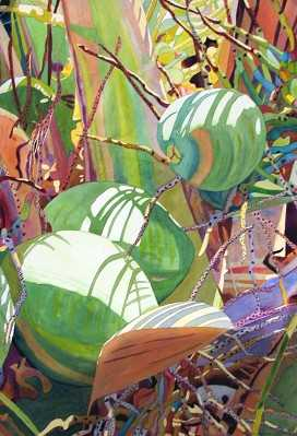 Close Up Coconuts by  Fabienne Blanc - Masterpiece Online