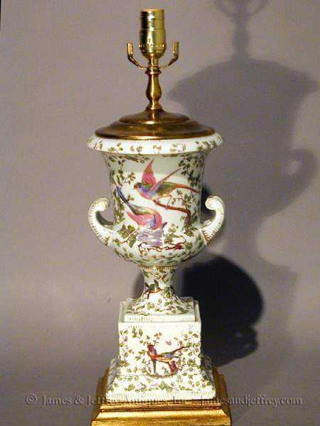 Paris Porcelain Lamp by  French  - Masterpiece Online