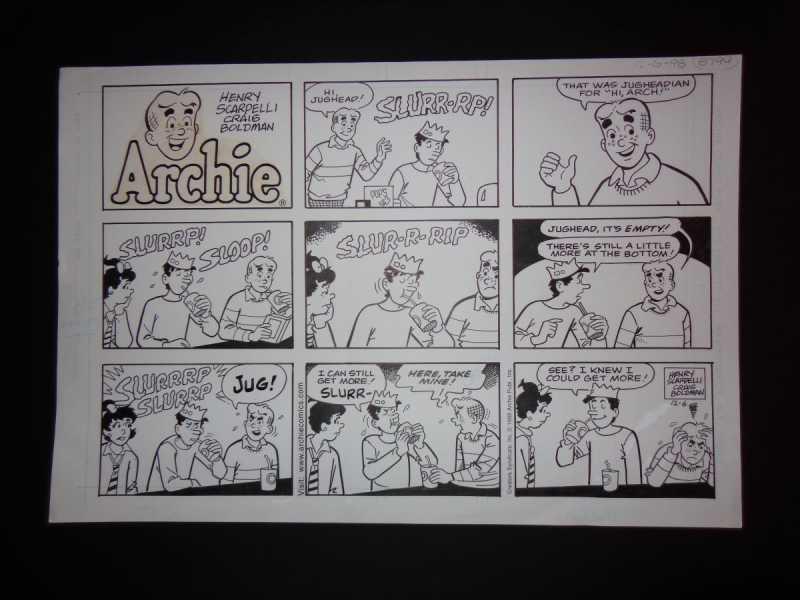 12-06-98 Archie Sunda... by  Henry Scarpelli - Masterpiece Online