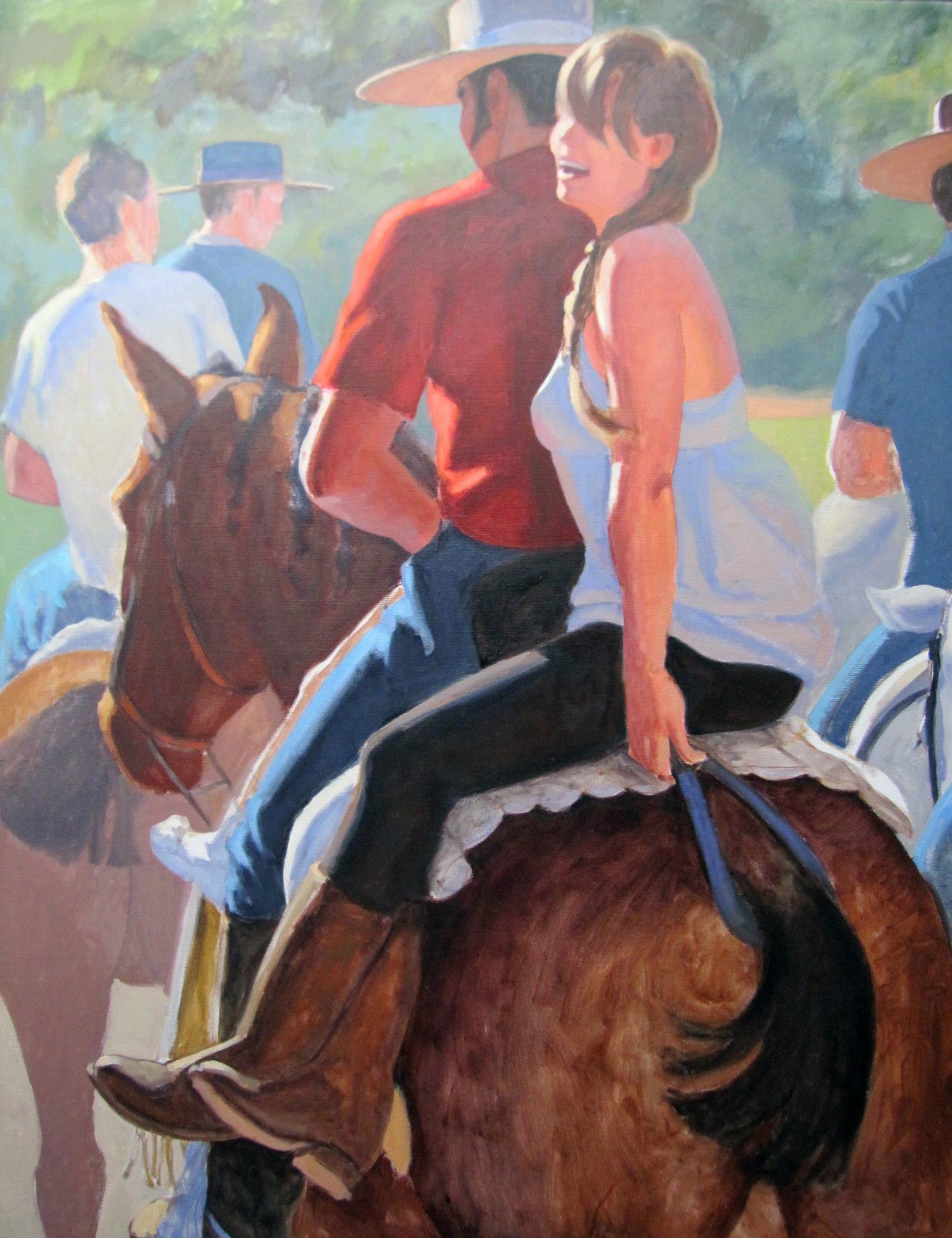 El Rocio by  Melissa Hefferlin - Masterpiece Online