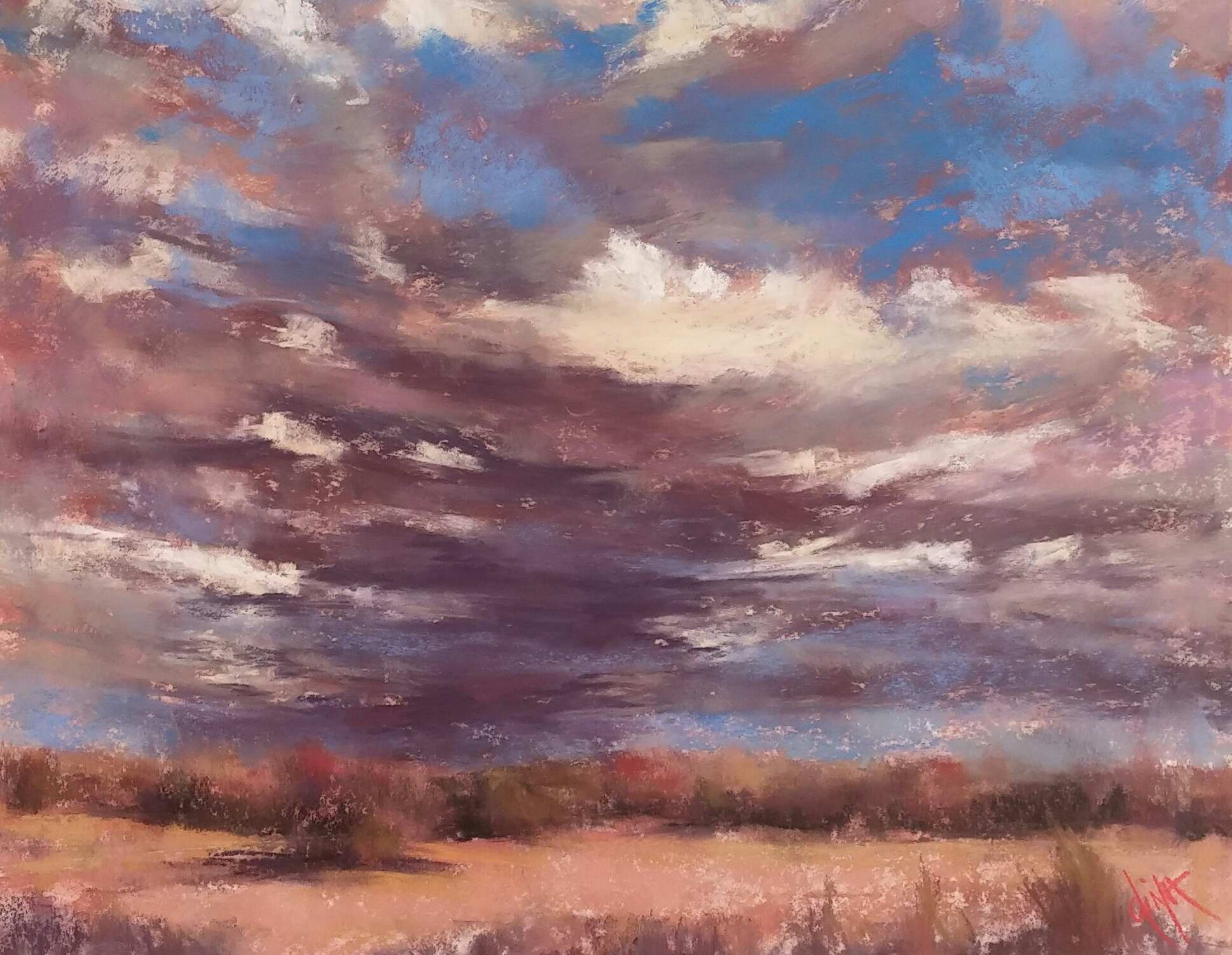 Texas Storm Clouds by Mrs Dina Gregory - Masterpiece Online