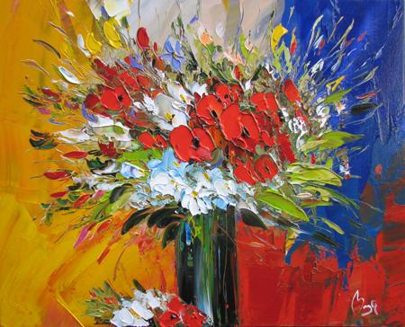 Rich Bouquet by  Louis  Magre - Masterpiece Online