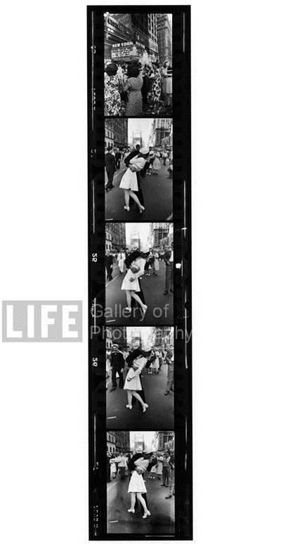 5 Frames of VJ Day Ce... by  Alfred Eisenstaedt - Masterpiece Online
