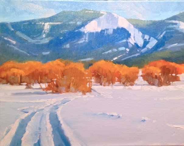 Snow Route by Mr Doug Swinton - Masterpiece Online