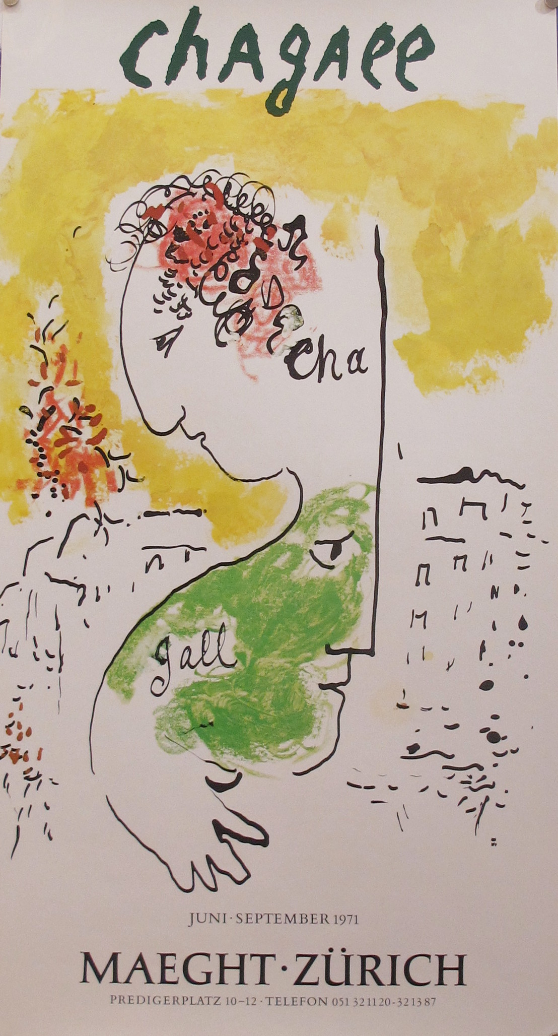 Exhibition - Maeght Z... by  Marc Chagall - Masterpiece Online