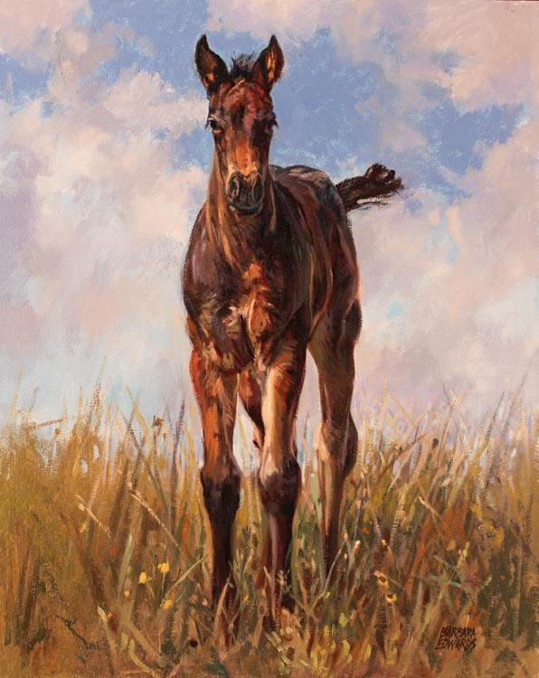 King of the Hill by  Barbara Summers Edwards - Masterpiece Online