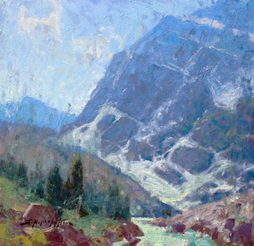 Mount Edith Cavell by  Jerry Markham - Masterpiece Online