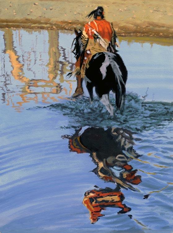 SOLD- Rippling Refle... by  Glen Edwards - Masterpiece Online