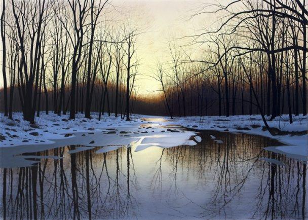 Silence Before Spring by  Alexander Volkov - Masterpiece Online