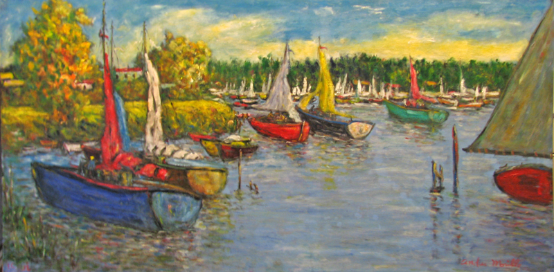 Fine Day to Sail by  Andres  Morillo - Masterpiece Online