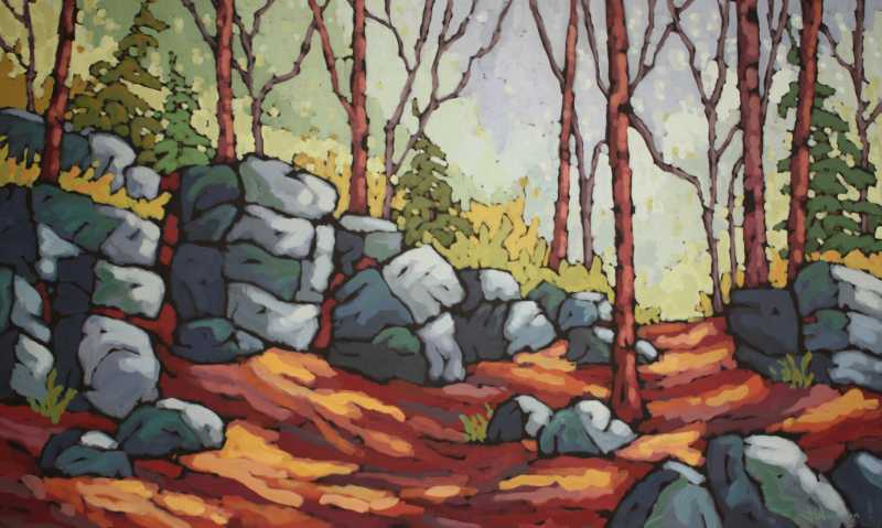 Glacial Remains by Ms Jennifer Woodburn - Masterpiece Online