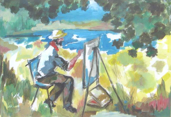 What I Did on My Vaca... by  Tom Maley - Masterpiece Online