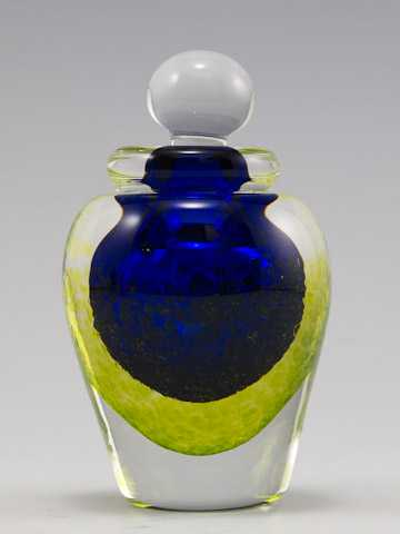 Perfume/Round Cobalt/... by  Laurie Thal - Masterpiece Online