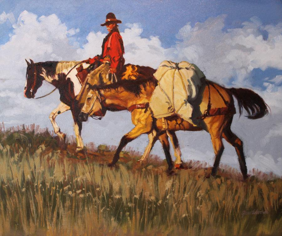 Ridge Rider by  Glen Edwards - Masterpiece Online