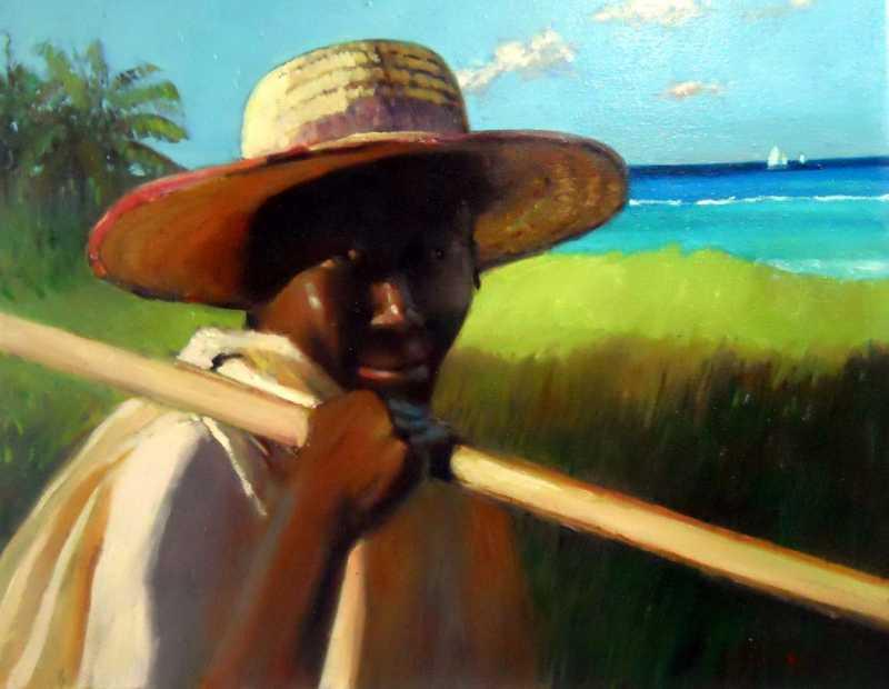 Off To Work by Mr. Vincent Castellanet - Masterpiece Online
