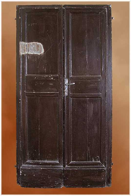 Pair of Italian LXVI Lacquered Doors by & Pair of Italian LXVI Lacquered Doors - Wirthmore Antiques