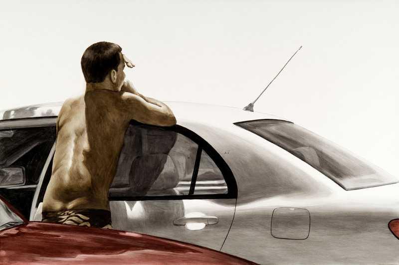 Parking Lot by  Melinda Morey - Masterpiece Online