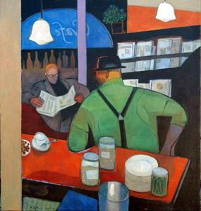 Newstand by  Gary Kelley - Masterpiece Online