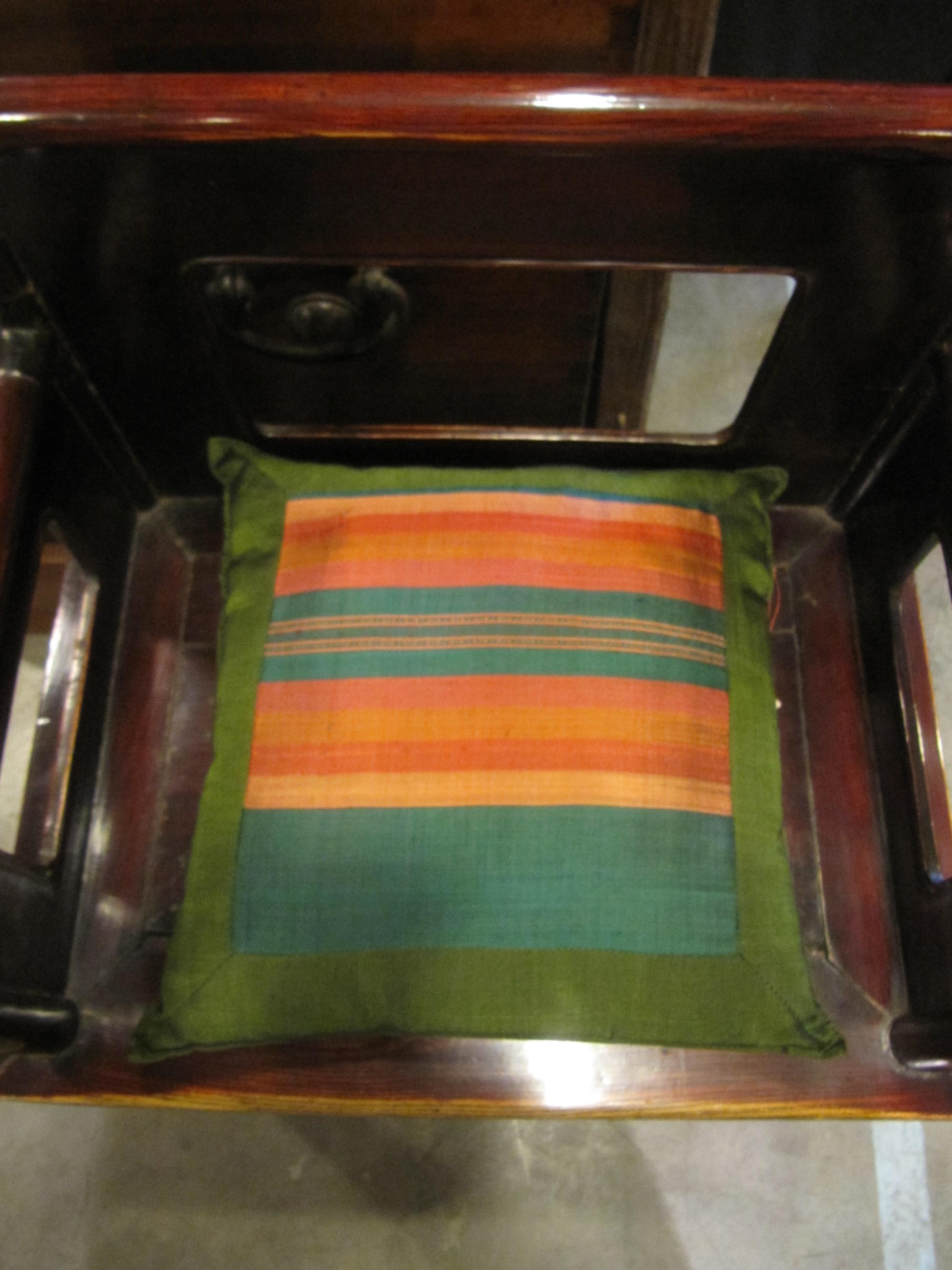 FRAMED IKAT PILLOW by    - Masterpiece Online