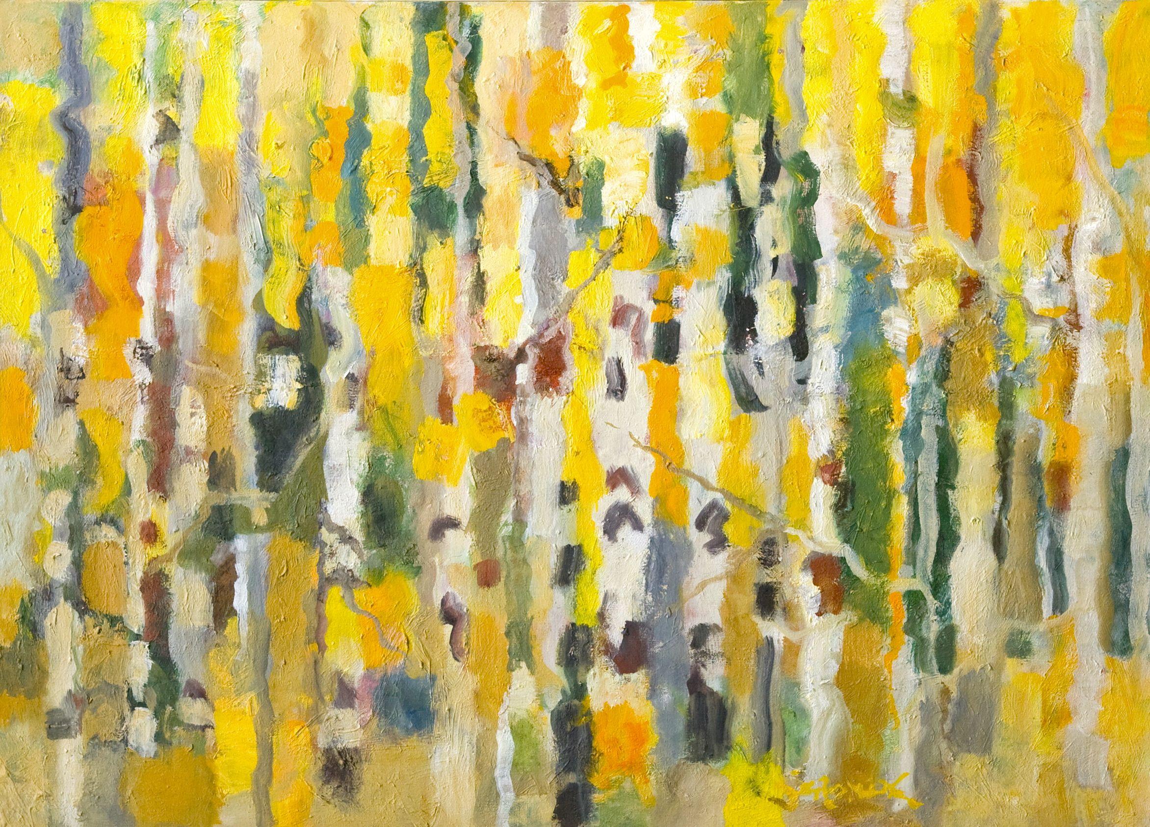 Aspen In Pilgrimage by  Adele Seronde - Masterpiece Online
