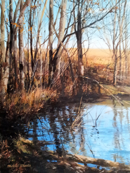 Little Pond - November by  Michael Wheeler - Masterpiece Online