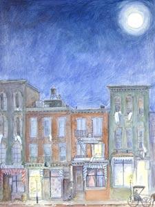 Night Town by  Susan Guevara - Masterpiece Online